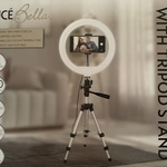 Luce Bella Selfie Ring Light with Tripod Stand $9 In-Store @ Bunnings Warehouse