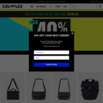 [NSW] Closing down Sale: 52% off Store Wide (in Store Only) @ Crumpler (Chatswood)