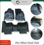 Custom 3D Floor Mats for Toyota Hilux 2015+ Single Cab & Dual Cab Models from $99 Delivered @ Orientalautodecoration