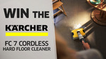 Win a Kärcher FC 7 Cordless Hard Floor Cleaner Worth $799 from Seven Network