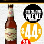 [VIC] Little Creatures Pale Ale Stubbies 24x330ml $44.99 Pickup Only @ Cellarbrations, Beretta's Langwarrin Hotel