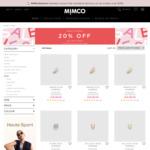 20% off Sale Items eg: Speckle Studs $31.20 (RRP $89.95), Halo Bracelet $23.20 (RRP $39.95) + Postage ($0 w/ $100 Spend) @ Mimco