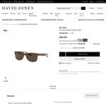 Ray-Ban Square Sunglasses $95 (Was $235) Delivered @ David Jones