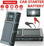 Vehicle Jump Starter 1000A $69.99 Delivered @ buyfast_19 eBay