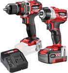 Ozito PXC 2 Piece 18V Brushless Drill & Impact Driver Kit $149 @ Bunnings