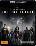 Zack Snyder's Justice League (4K Ultra HD + Blu-Ray) $25 + Delivery ($0 with Prime/ $39 Spend) @ Amazon AU