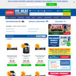 50% off All Musashi Products + Delivery ($0 with $50 Spend) @ Chemist Warehouse