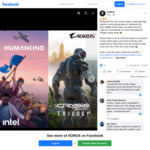 Win 1 of 5 HUMANKIND or Crysis Remastered Trilogy Game Codes from AORUS