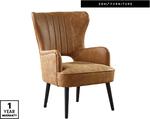 Faux Leather Wingback Armchair $159 @ ALDI