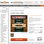 Scrabble Deluxe - $26 Delivered