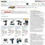 Bosch Tools Orders $25 off $100, Plus $25 Shipping from Amazon US, So Free Shipping Indeed