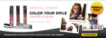 $25 for 3x Colour Your Smile Lip Gloss and Treatment Including Delivery