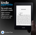 Kindle Paperwhite from AMAZON.com, ships to AUS. $139 + $11.98 postage (USD). Approx $148.70 AUD