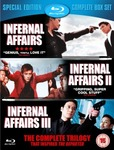 (SOLD OUT)Hong Kong's Blockbuster Infernal Affairs Trilogy Blu-Ray $21.70 Delivered @ Zavvi