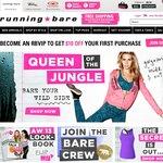 $30 off $150 Spend or More at RunningBare.com.au