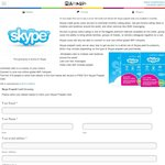 FREE $10 Prepaid Skype Card Delivered from Mamamia