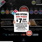 DOMINO'S: ANY PIZZA FROM $7.00 before 7pm on 12/07/13 Only