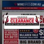 Winebros - Online Clearance. Buy a dozen wines, get Rekorderlig (16x500ml) $45 or beer slabs $25