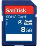 SanDisk SDHC 8GB $5 Logitech M105 Corded $9