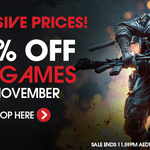 WOWHD ALL Games 20% in November