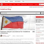Vodafone - FREE Calls/SMS to Philippines (until 30 November)