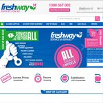 """""""FRESHWAY CLEANING SUPPLIES"""" UP to 30% Discount for ALL Cleaning Equipemnts"""