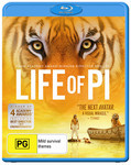 62.5% off Life Of Pi (2012) Blu-Ray $7.50 @ Target - ENDS TODAY