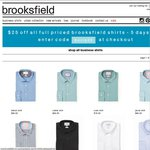 Brooksfield 5 Day Sale - $25 off Full Priced Shirts