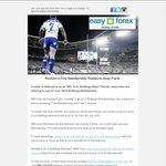 Receive a Free Bulldogs NRL Membership by Opening Easy-Forex Trading Account of Same Value