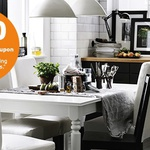 IKEA- $50 Coupon for Every $250 Spend on Dining Tables & Chairs for Members 10-23 April