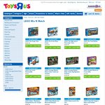 Lego - Buy 1 Get 1 Half Price At Toys R Us - Selected Themes Only