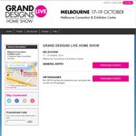FREE Double Pass Tickets to Grand Designs Live Melbourne