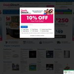 10% off Everything at Deals Direct with a Minimum Spend of $50 Plus 5% CashBack Via Cash Rewards
