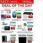 MSY: McAfee Anti Virus Plus 2014 OEM $1 Was $5 + Gigabyte KM 6150 Keyboard & Mouse $8 Was $12