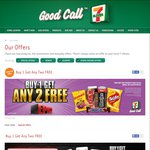 7/11 - Buy One Get Two Free - Select Products