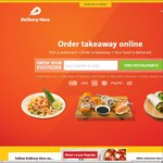Delivery Hero $15 off $20 Spend