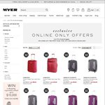 Up to 70% off Selected Luggage, from $50 @ Myer