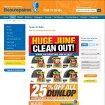Beaurepaires 25% off DUNLOP Grandtrek 4x4 & SUV TYRES
