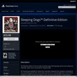 US PSN - PS4 - Sleeping Dogs™ Definitive Edition US$15.99 ~ AU$20.79