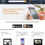 FREE $5 USD (No Min Spend) to Use @ Amazon for Downloading Their Shopping App