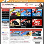 $40 Off Purchases of $159 or More at Adrenalin.com.au