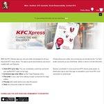 24 Chicken Nuggets $10 & Regular Chips $1 Are Back @ KFC (Via Xpress App)