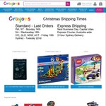 Crayons Online Toys - Boxing Day Sale - 20% off Everything