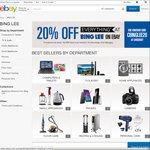 20% Discount at Bing Lee eBay