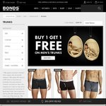 Bonds - Buy 1 Get 1 Free Men's Trunks