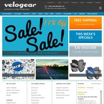 Velogear 11% off and Free Shipping - Cycling
