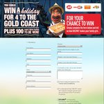 Win a Family Holiday to Gold Coast, or 1 of 100x Family Movie Passes - Buy 2x Dolmio @ IGA/FoodWorks etc