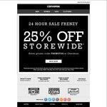 Converse Australia - 25% off Storewide