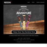 2x FREE Sachets of NESCAFÉ Coffee