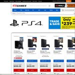 Trade in Your Old 500GB PS4 with The New Slim 500GB PS4 for $239 @ EB Games